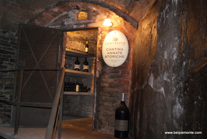 A small cellar of Contratto with old vintages