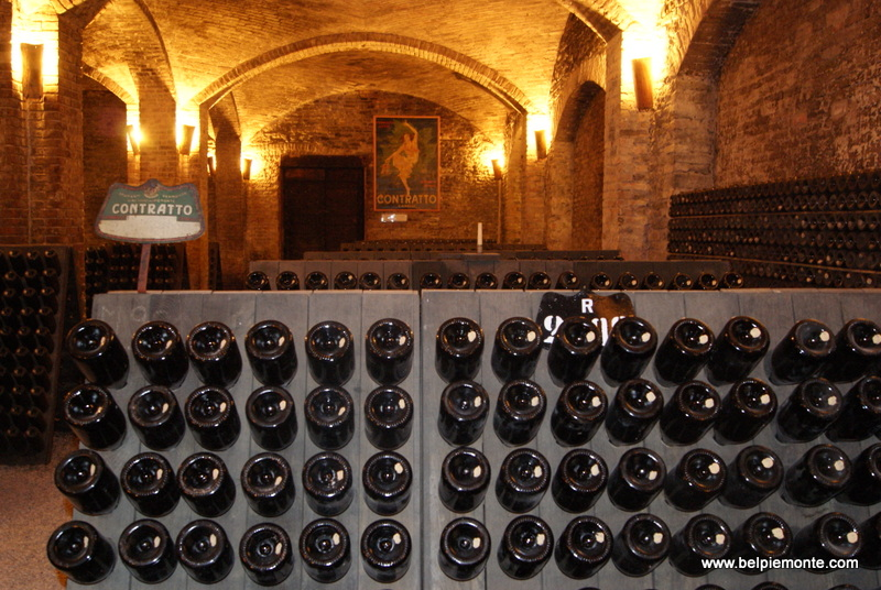 Picturesque cellars of Contratto