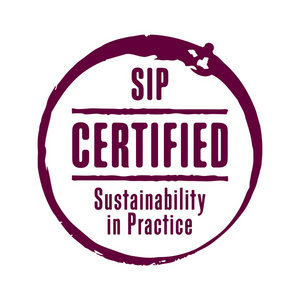 A Sip Certified Sustainable wine logo