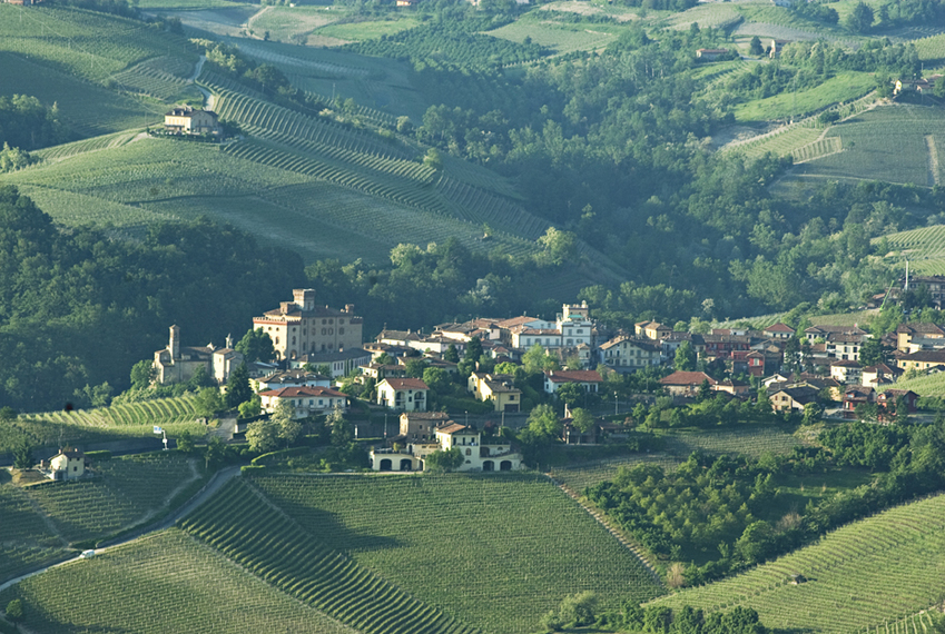 Barolo in the morning. Photo by Tom Hyland