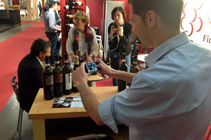 Paolo Demarie a Vinitaly 2014