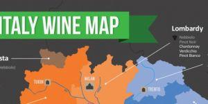 Fratelli di vino, la mappa dei vitigni italiani